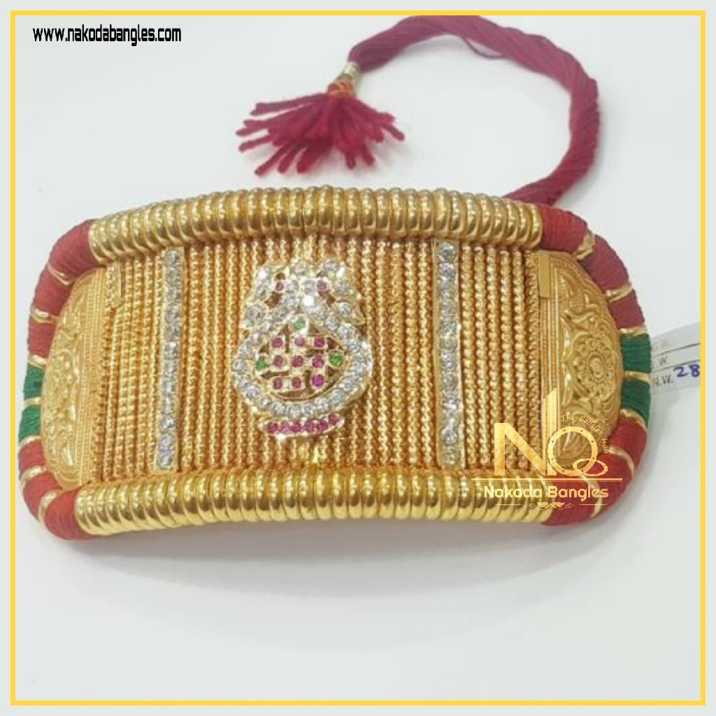 916 Gold Antique Bajubandh NB-330