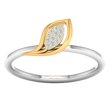 18k gold real diamond ring mga - rdr004