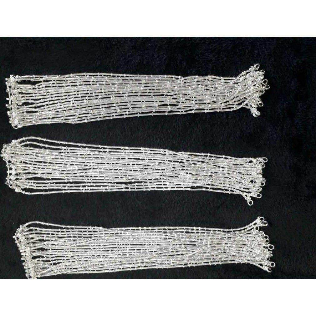 Gol Chain Machine Cut Full Lacha Dori Payal Ms-1258