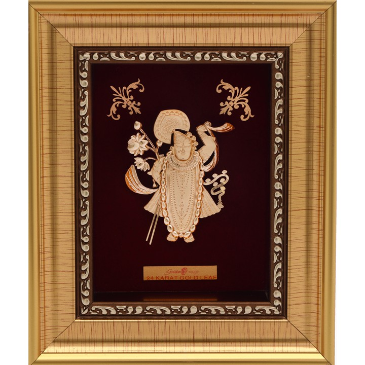 SHREENATHJI FANCY 999 GOLD FRAME