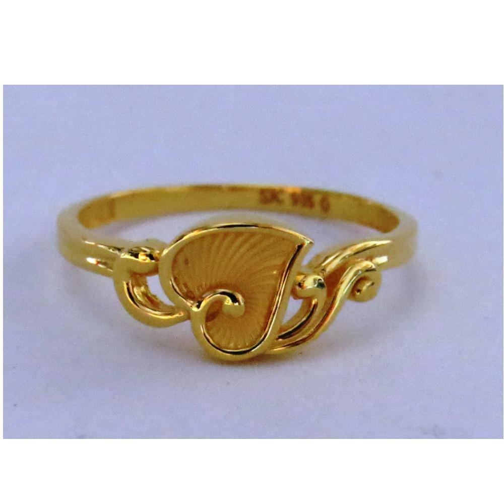 916 plain casting leaf ring