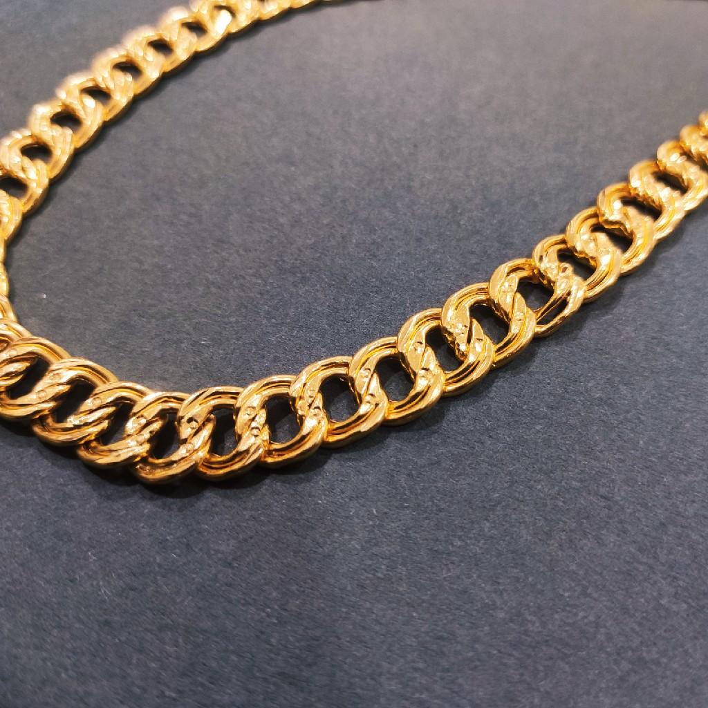 916 gold double kadi chain