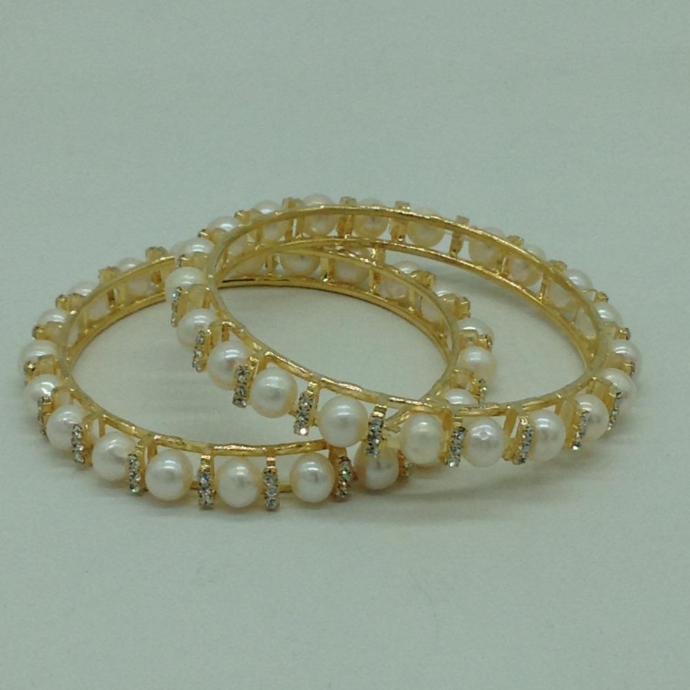Pearls CZ FancyBangles JBG0305