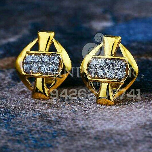 18kt Daily Were Cz Gold Ladies Tops ATG -0262