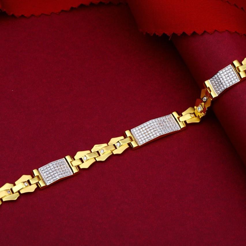 22kt916 gold  mens  bracelet