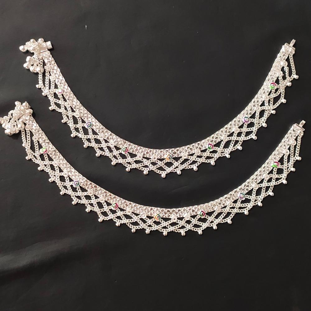Silver Fancy Payal