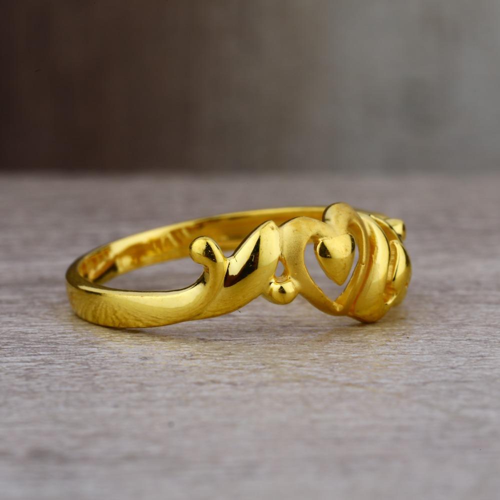 Ladies 916 Gold Fancy Delicate Ring -LPR56