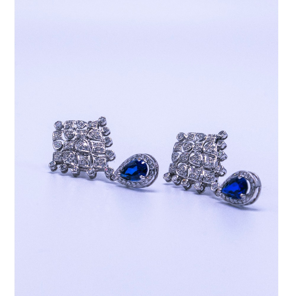 14k  diamond earrings agj-er-136