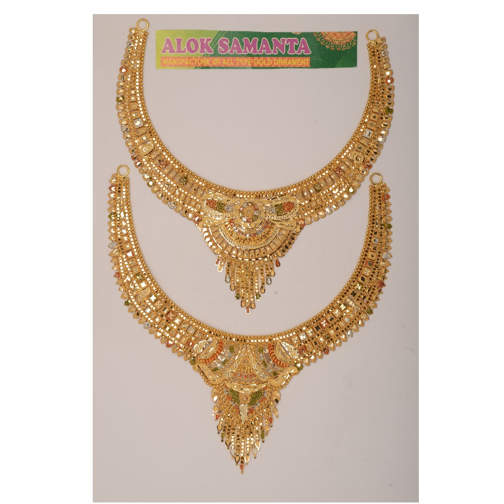 916 Gold Indian Necklace