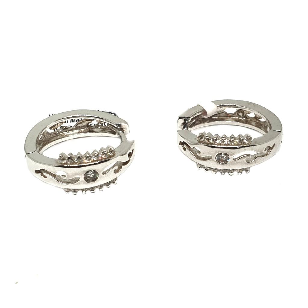 925 Sterling Silver Designer Earring Bali MGA - BTS0012