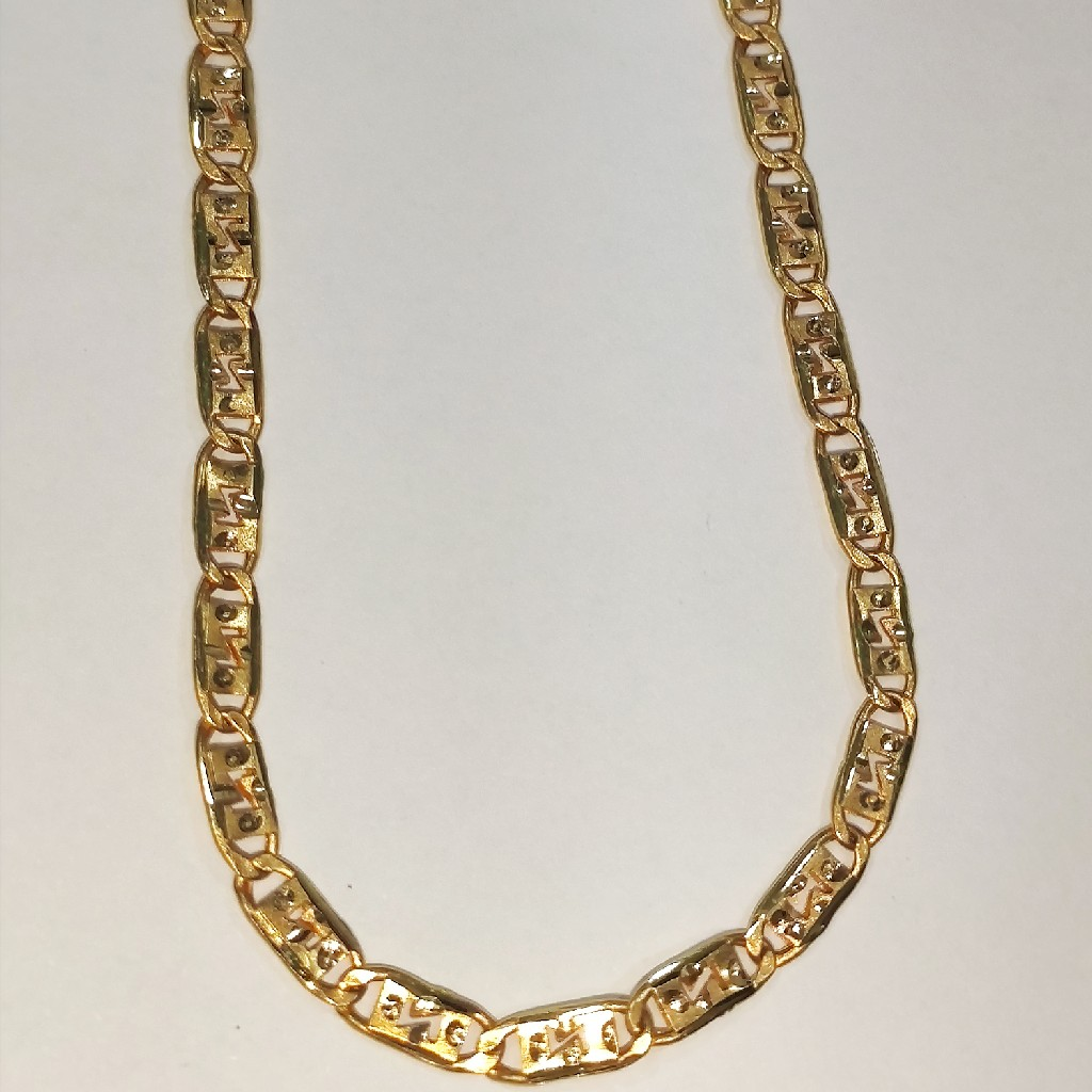 22k 916 gold Hollow Nawabi chain