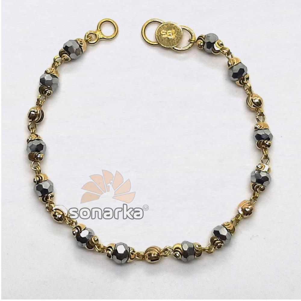 Gold Nazariya Beads Bracelet SK-N003