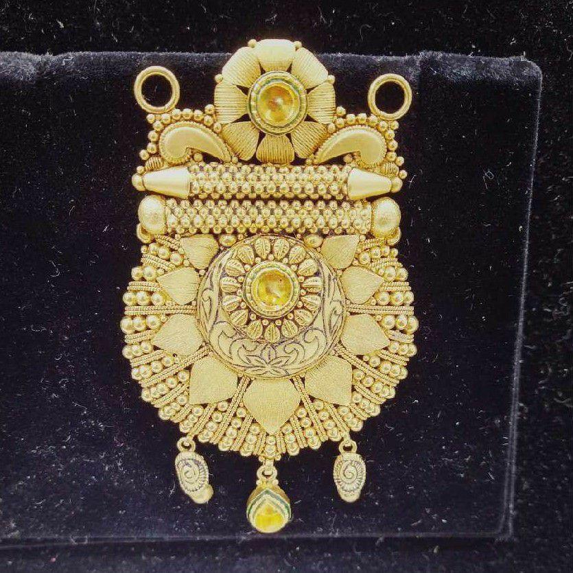 916 Gold Indian Mangalsutra Pendant