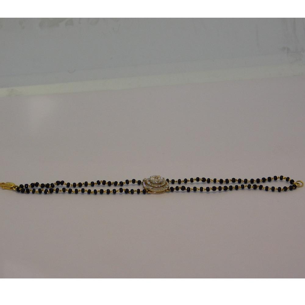18K gold diamond mangalsutra agj-tm-27