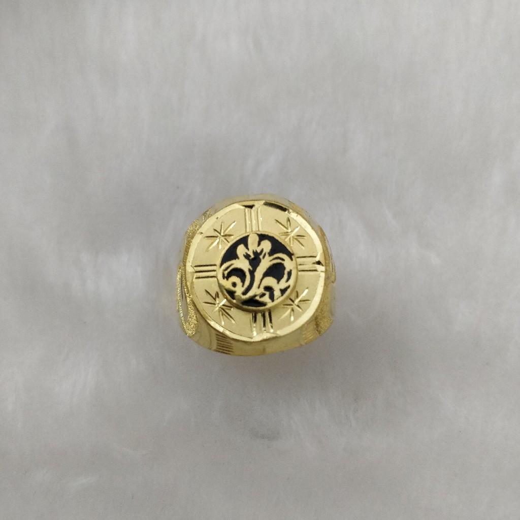 916 Gold Gent's Fancy Gent's Ring