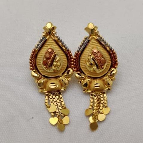 916 Gold Tops Earring LMJ-250