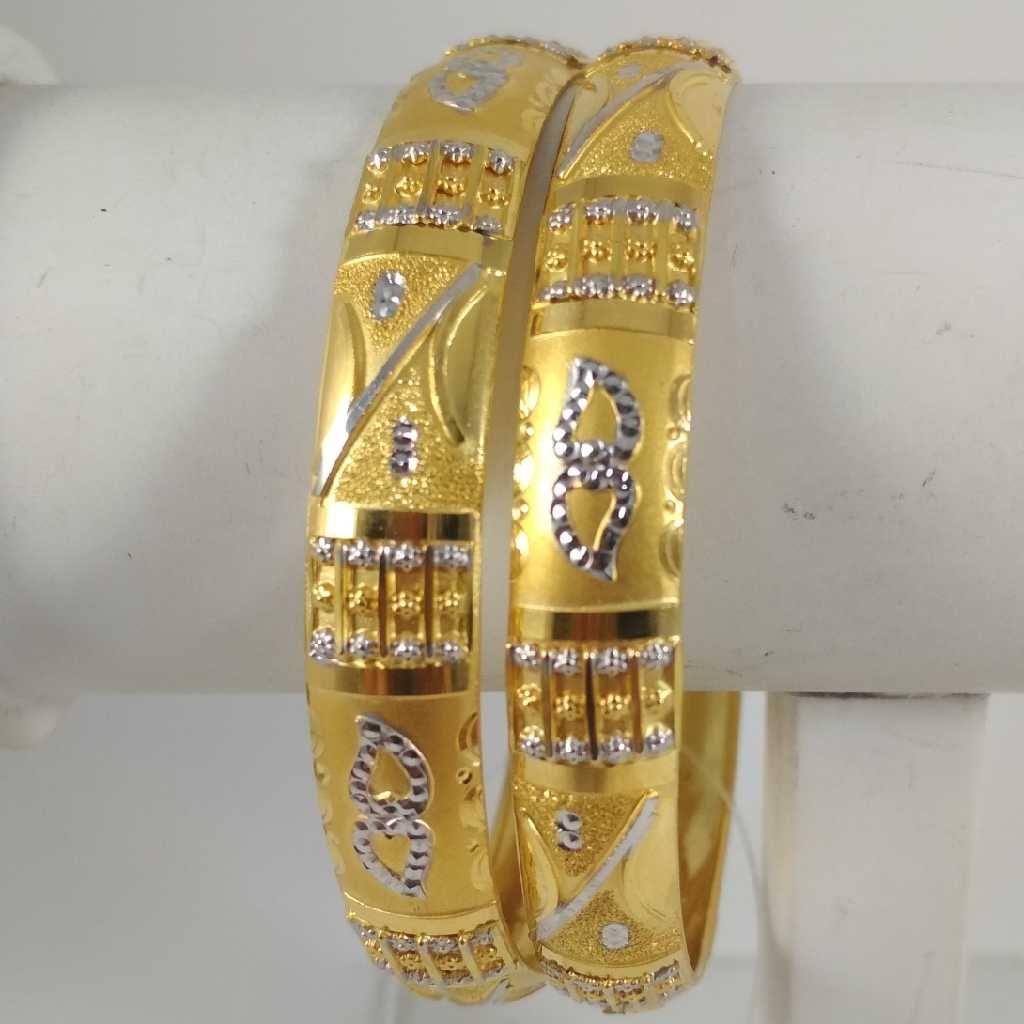22 K Gold Bangle. NJ-B0236