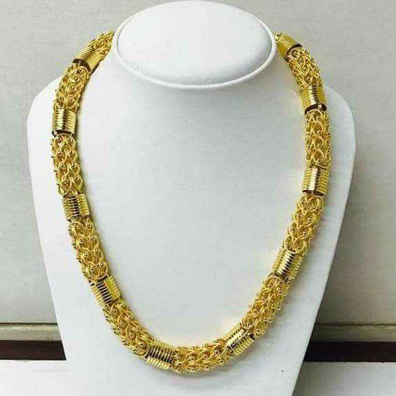 916 Gold Handmade Indo Italian Chain