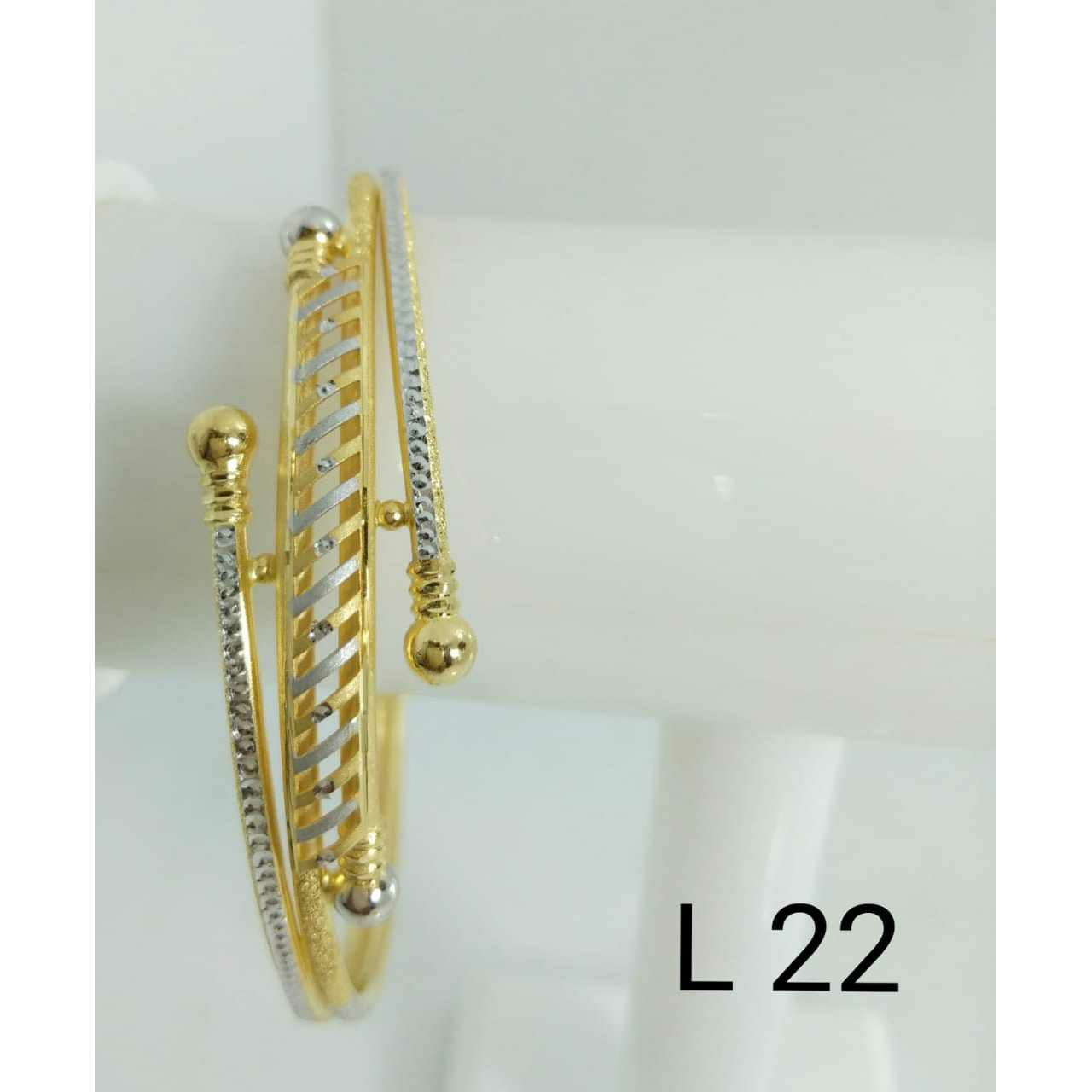 22kt Gold Ladies Fancy Copper Bracelet (Gabha Kadli)