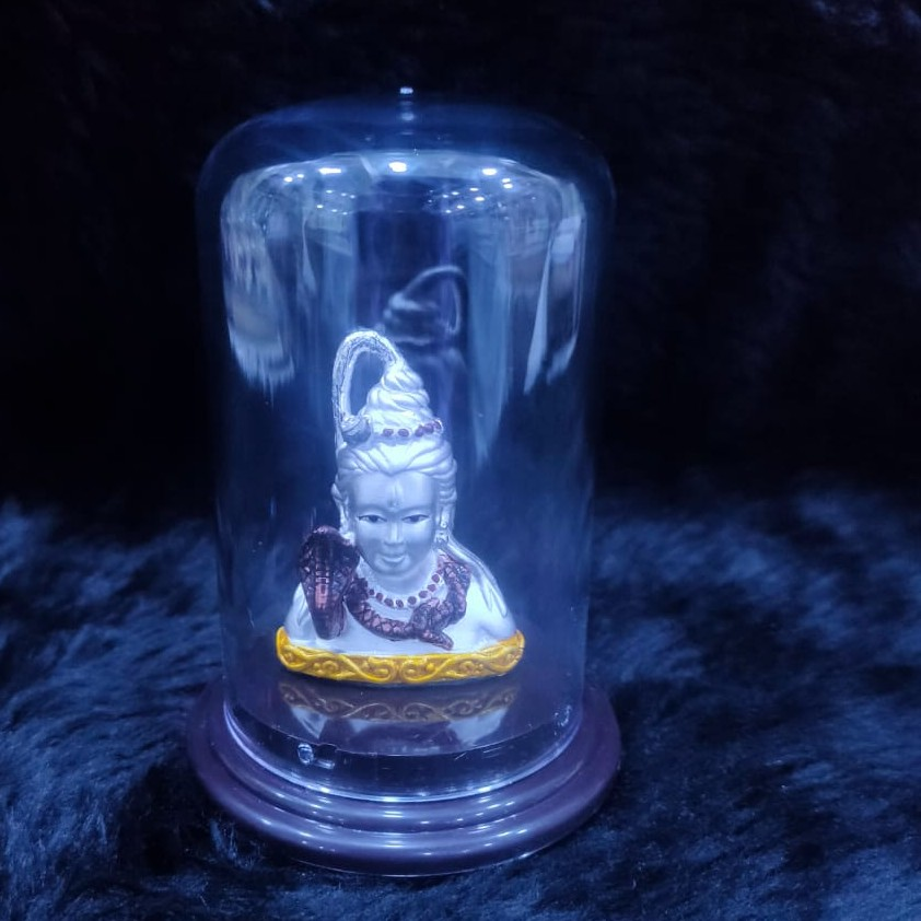 92.5 sterling silver bholenath idol