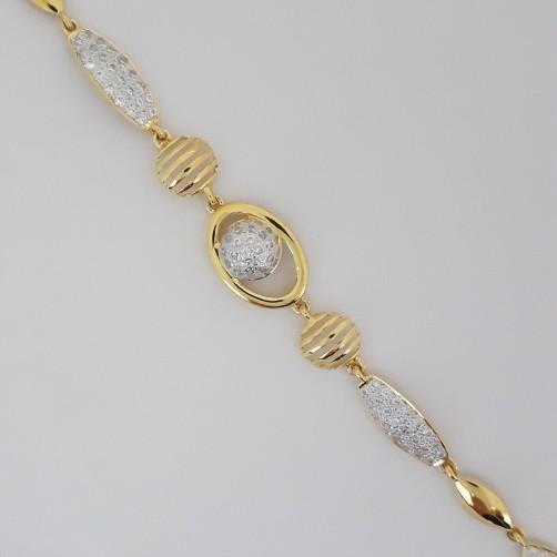 916 Gold beautiful bracelet