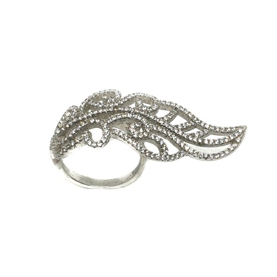 925 Sterling Silver Fancy Ring MGA - LRS0074