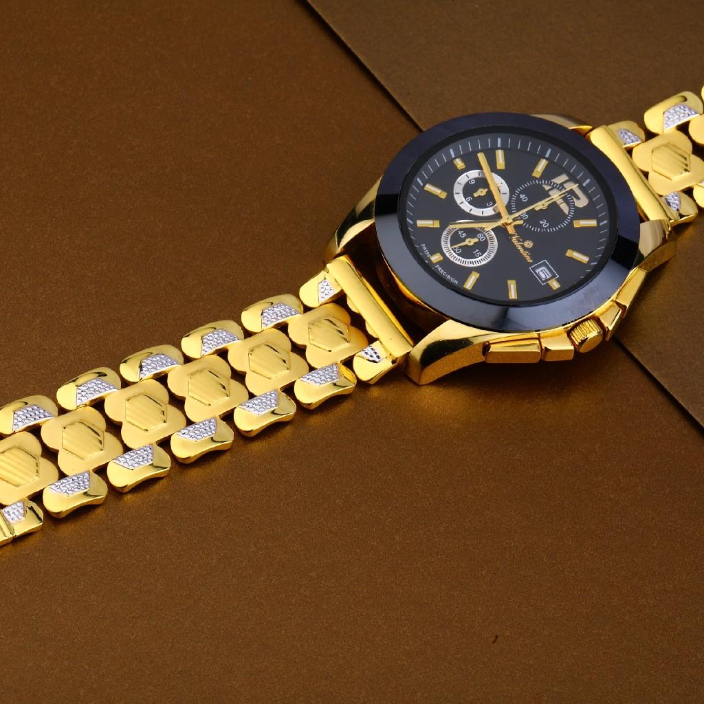 22kt Gold Hallmark Stylish Mens Watch MW11