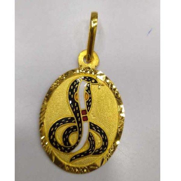 916 Gold Fancy Pendants RJ-034