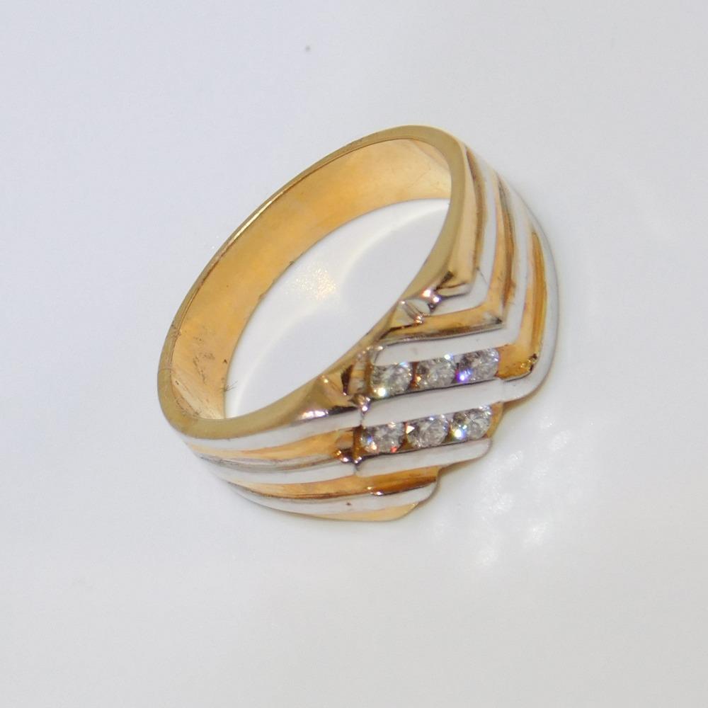 18K gold diamond ring agj-lr-85