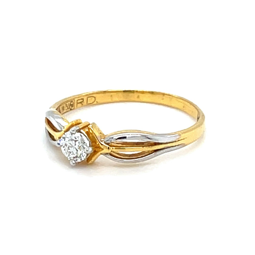 Single Diamond Ring for Ladies - 0LR86