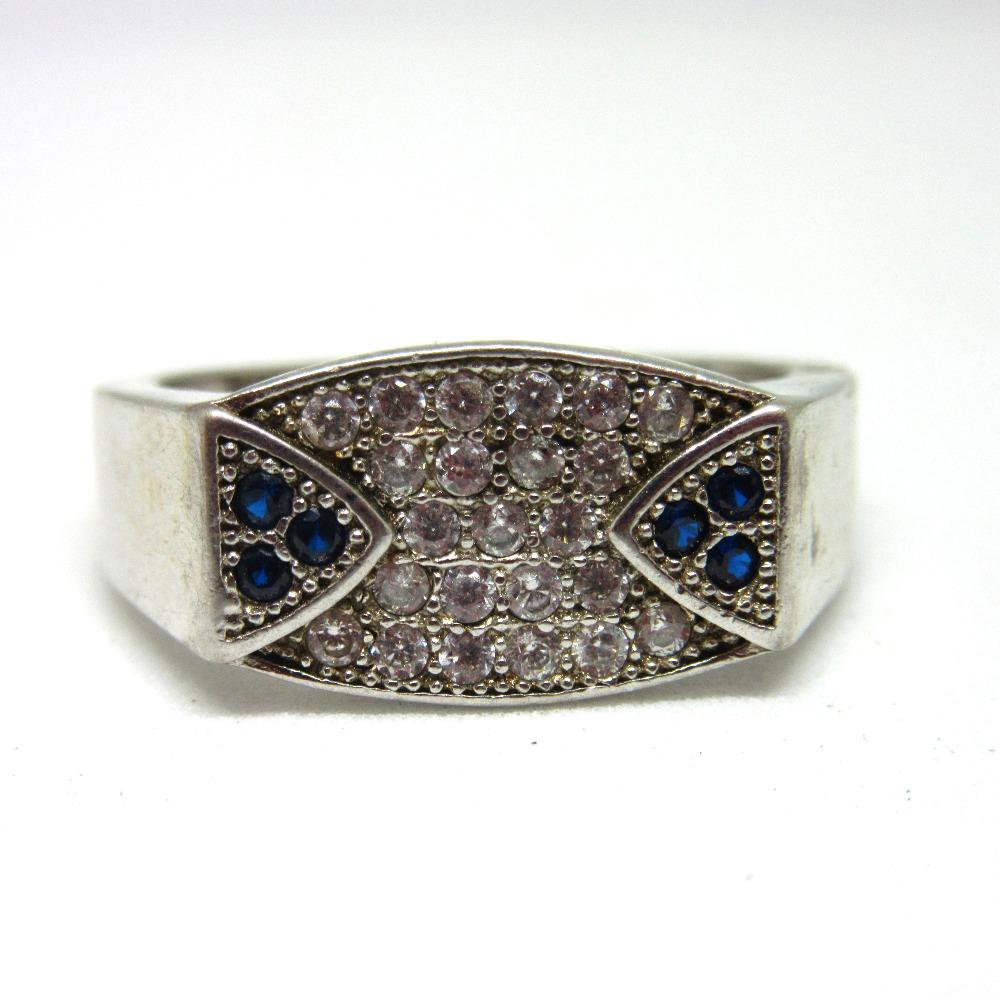 Silver 925 dailywear ring for gents sr925-110