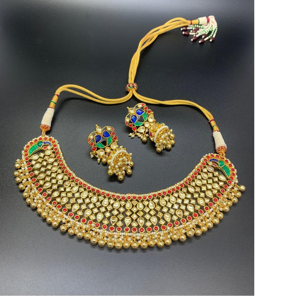 Kundan jadau necklace