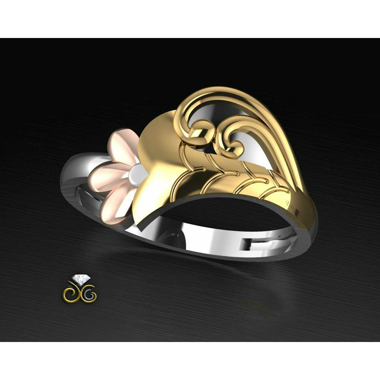 Handmade Toe Ring Bichiya(Vichiya) Ferva Ms-2489