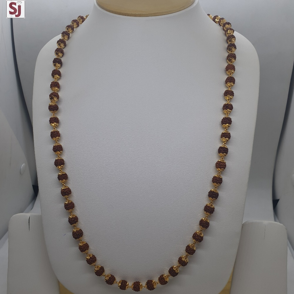 Rudraksh Mala RMG-0045 Gross Weight-25.760 Net Weight-18.270