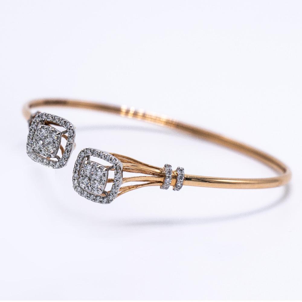 18k gold diamond bracelet agj-lb-60