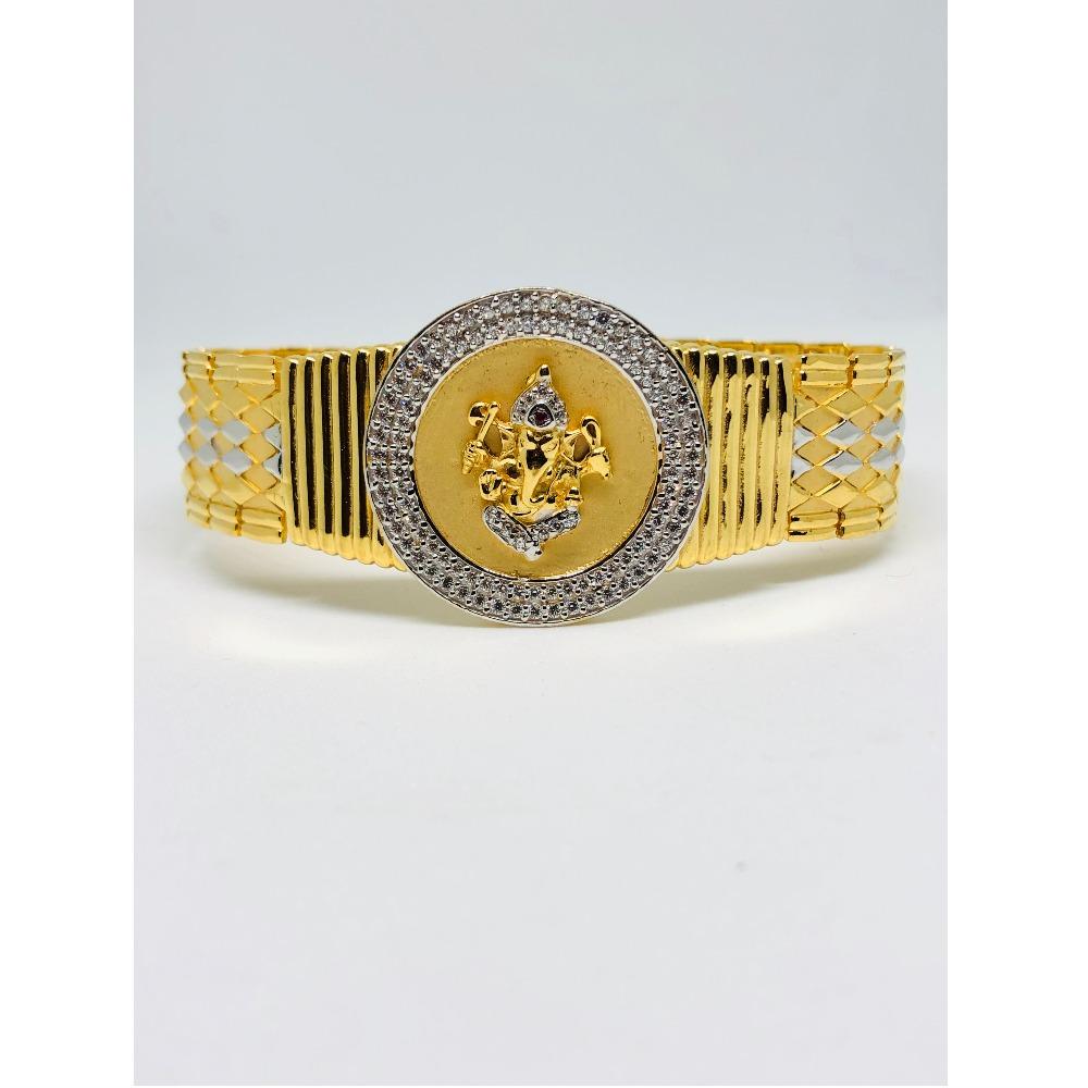 916 Gold Designer Bracelet For Men KDJ-B002