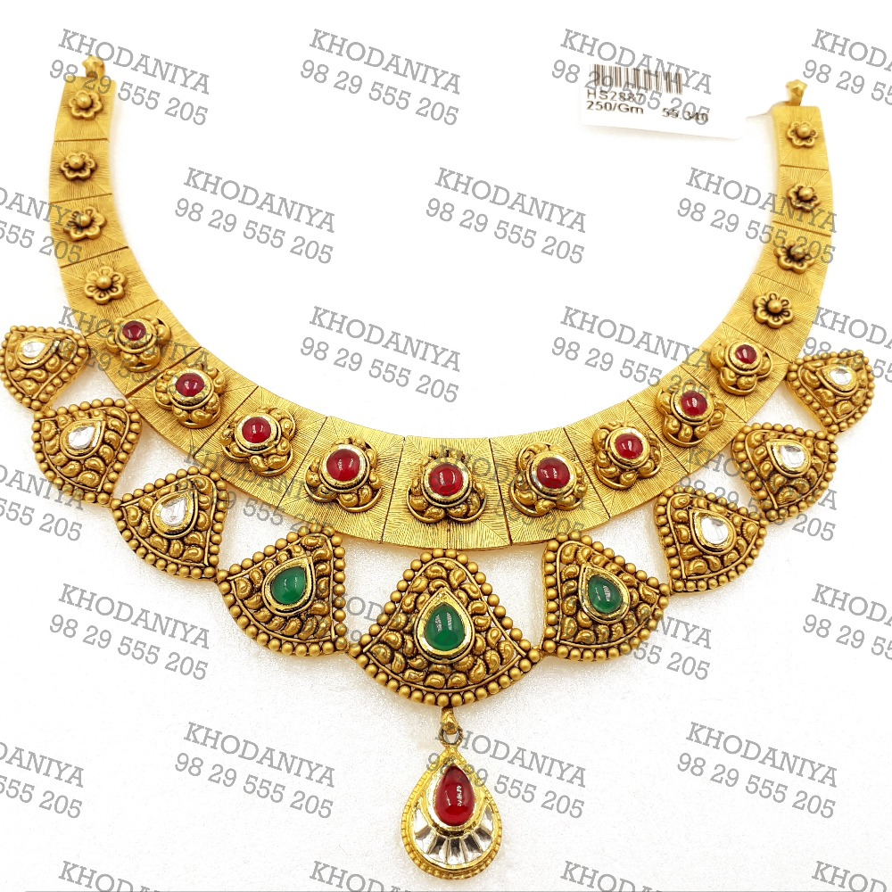 haar Kundan 916 Bridal Set new gold Jewelry antique jwellery