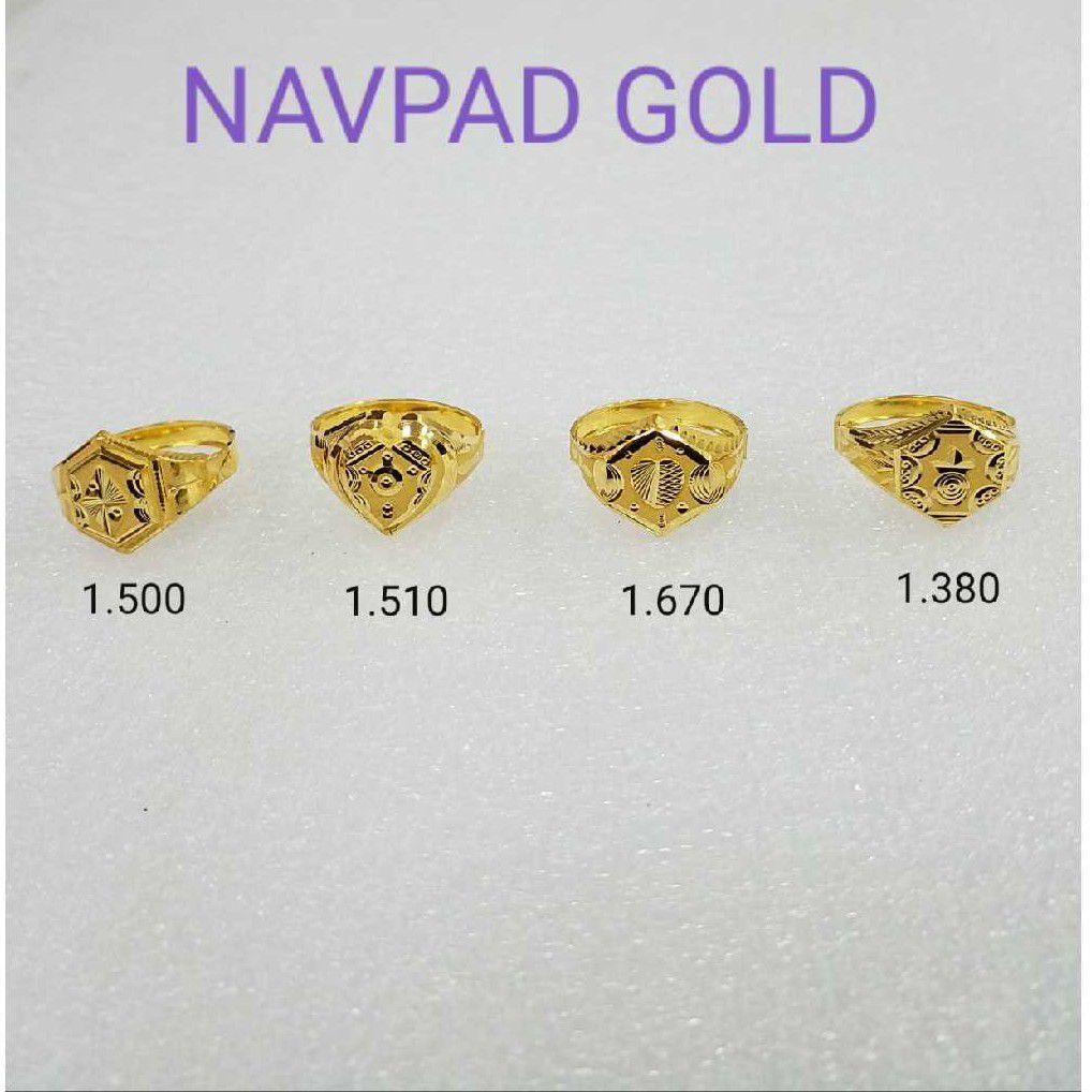 20kt gold rings NG-R014
