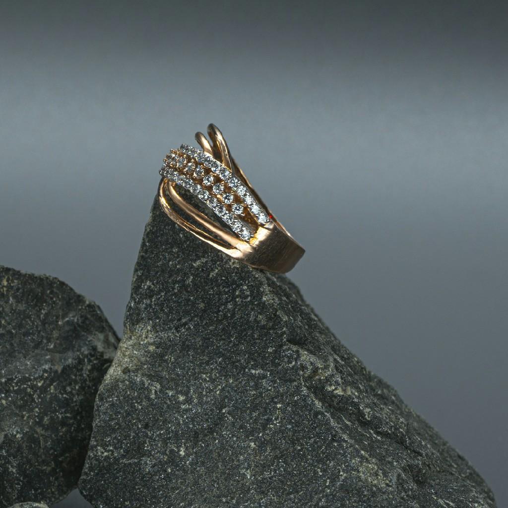 cz Gold Ladies Ring