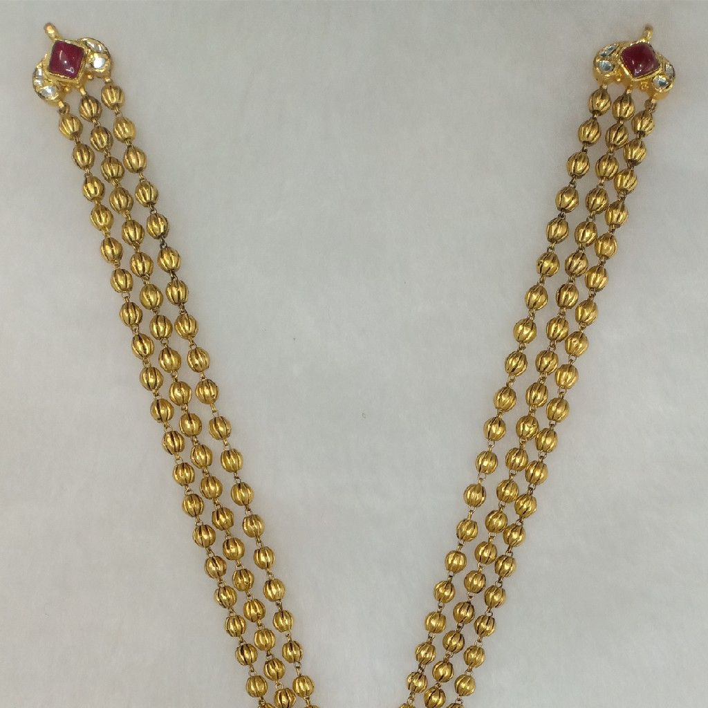 916 Gold antique long set CG1007