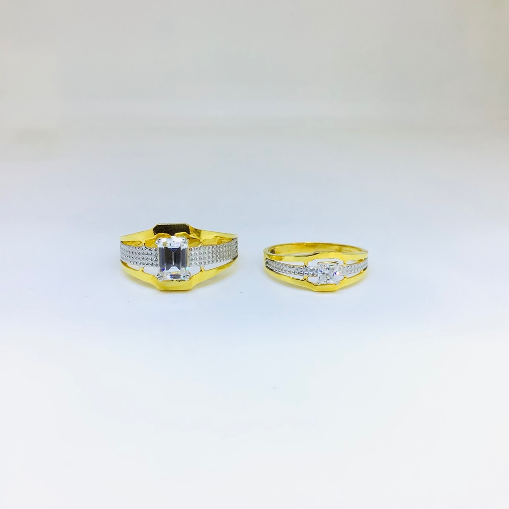 DESIGNING FANCY GOLD COUPLE RINGS