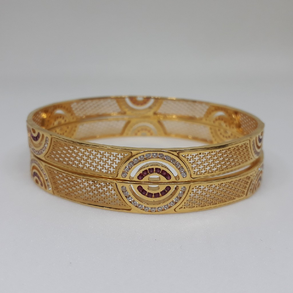 916 Diamond Gold Bangle bg/95/26