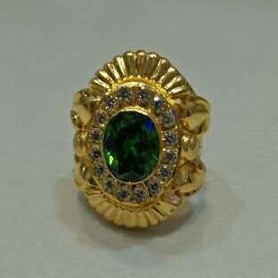 22KT Sterling  Diamond  Gents  Rings