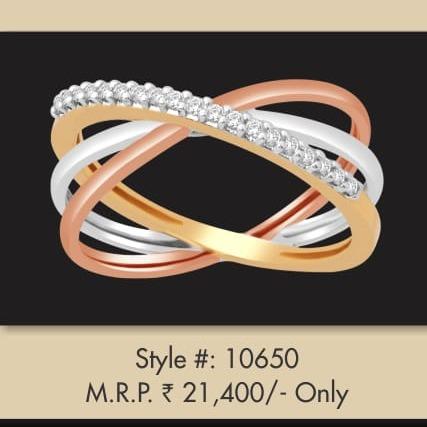 916 Gold Fancy ring MJ-R001