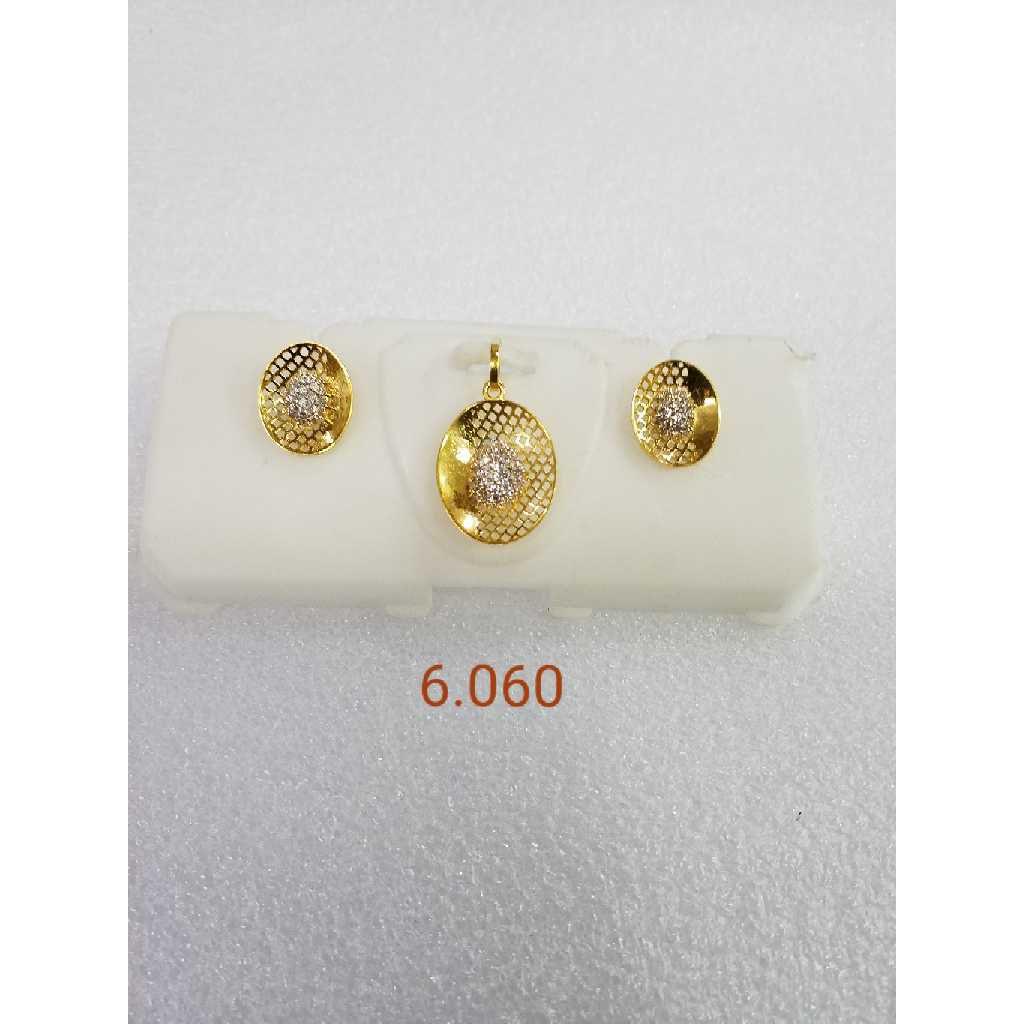 22KT gold pendant set NG-P004
