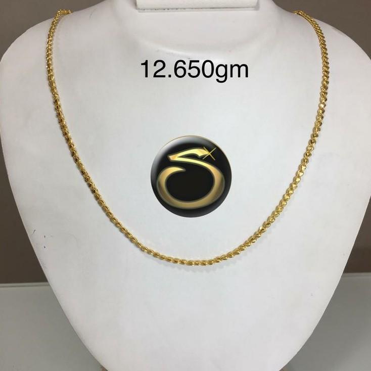 22KT Gold Handmade chain SC-EZ0541