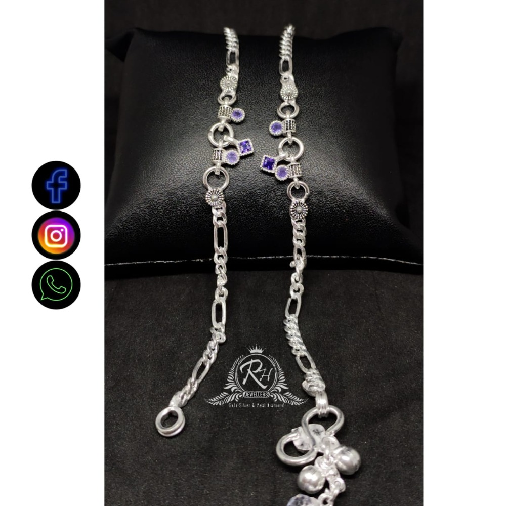 silver fancy ladies payal RH-AP611