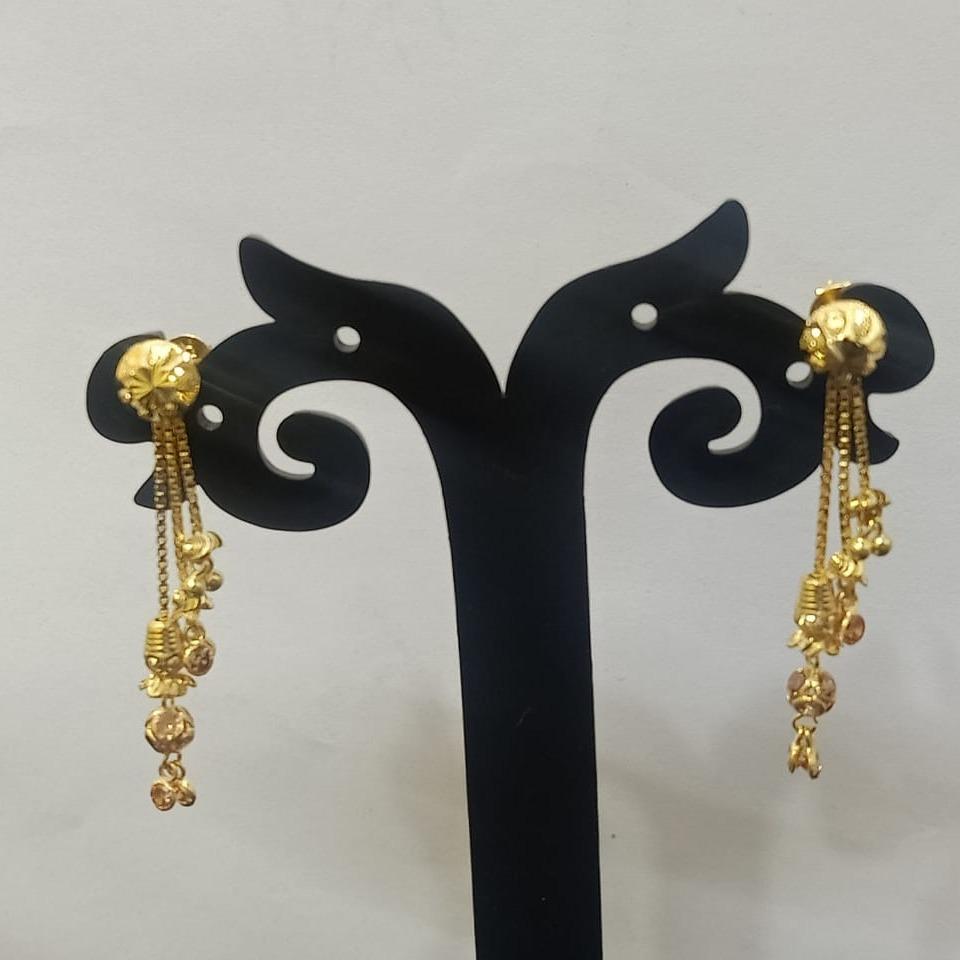 18CT gold daily wear hallmark soidora earring