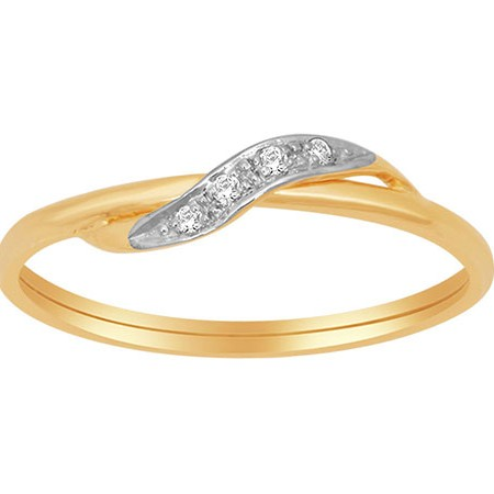 18k rose gold real diamond ring mga - rdr003