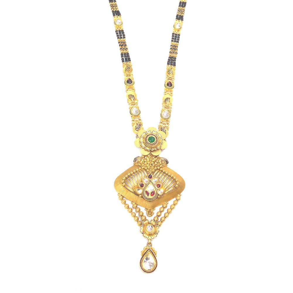 22KT Gold Ladies Indian Attractive Mangalsutra